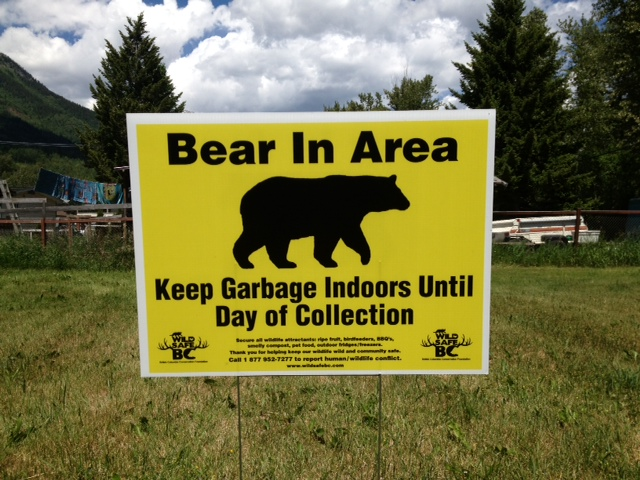 new lawn sign